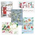Fab forty RSPB charity Christmas cards - 40 pack product photo Front View - additional image 1 T
