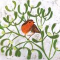 The proudest pair RSPB charity Christmas cards - 10 pack product photo Side View -  - additional image 3 T