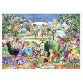 Winter garden jigsaw product photo Front View - additional image 1 T