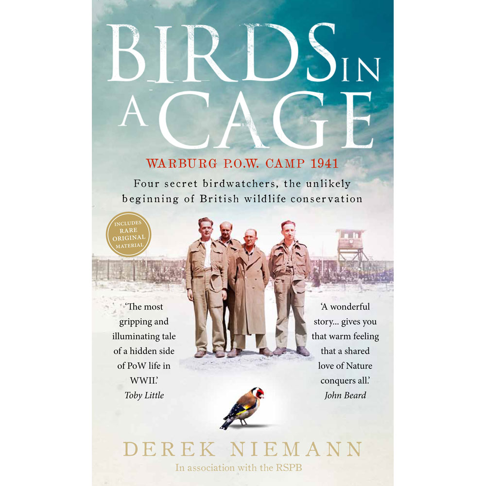 Birds in a cage (paperback) product photo