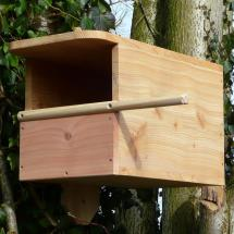Kestrel nest box product photo