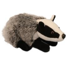 Living Nature badger plush soft toy product photo