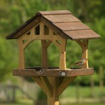 Country barn bird table product photo