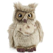 Brown owl plush soft toy product photo