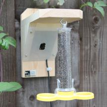 Bird feeder camera housing (only) product photo