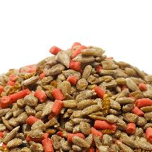 Favourites blend bird food product photo