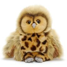 Owl hand puppet product photo