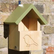 RSPB Silhouette open-front apex nest box product photo