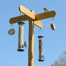 RSPB Signpost wooden feeding station product photo