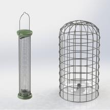 RSPB Ultimate nut & nibble feeder + guardian, medium product photo
