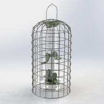 RSPB Ultimate Easy-clean nyjer feeder + guardian, M product photo