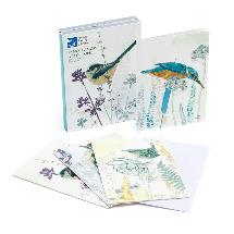 RSPB Birds 12 notecards (4 designs) product photo