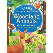 RSPB Woodland animals activity sticker book product photo