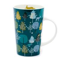 Wild wood latte trees mug product photo
