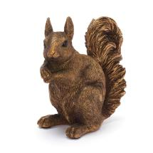 Red squirrel ornament product photo