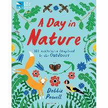 A Day in Nature RSPB activity book product photo