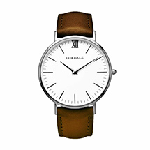 Avocet watch - vintage brown strap product photo
