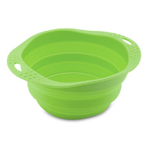 Dog travel bowl - collapsible silicone product photo