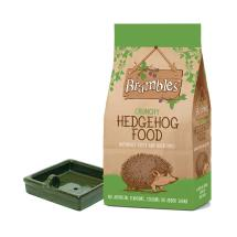 Brambles crunchy hedgehog food + bowl product photo