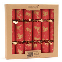 Christmas chorus origami recycled crackers, box of 6 product photo