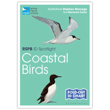 Coastal birds identifier chart - RSPB ID Spotlight series product photo