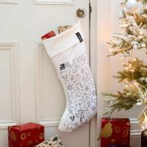 Colour-in Christmas stocking product photo