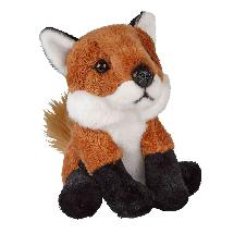 Fox soft plush toy product photo