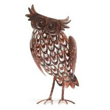 Owl solar light, large product photo