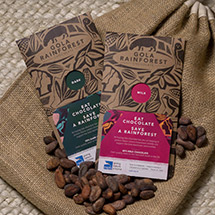 Gola Rainforest chocolate product photo