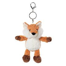 Jasper the fox keyring product photo
