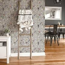 Lorna Syson wallpaper, grey product photo
