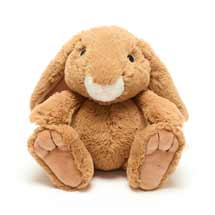 Rosie the rabbit plush beanie toy 20cm product photo