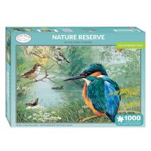 Nature reserve Kingfisher jigsaw product photo