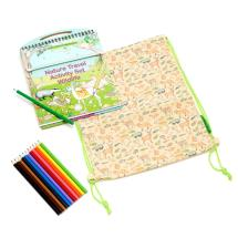 Nature travel activity set, wildlife product photo