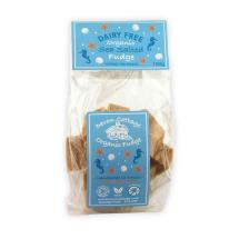 Organic dairy free sea salt vegan fudge product photo