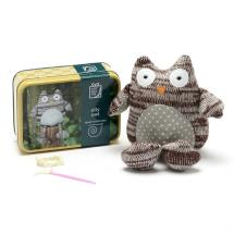 Owl in a tin product photo