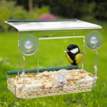 Window bird feeder product photo