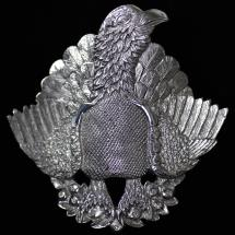 Malcolm Appleby Capercaillie silver pendant product photo