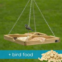 RSPB Hanging table & bird food offer product photo