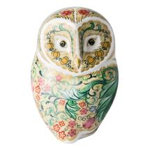 Royal Crown Derby, Parchment owl product photo