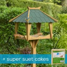 RSPB Pagoda bird table & super suet cakes product photo
