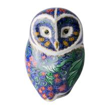 Royal Crown Derby, Periwinkle owl product photo