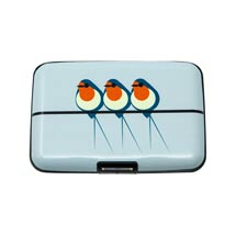 RFID credit card protection wallet, swallow product photo