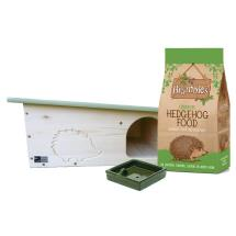 RSPB Hedgehog home + food + bowl product photo