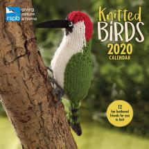 RSPB Knitted birds calendar 2020 product photo