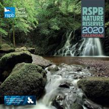 RSPB Nature reserves calendar 2020 product photo