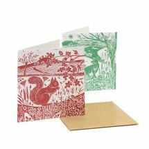 RSPB Nature's print landscape notecards pack product photo