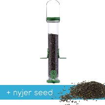 RSPB Ultimate easy-clean medium nyjer feeder + 5.5kg nyjer seed product photo