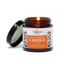 Natural scented candle in glass jar - RSPB Victorian flora range product photo