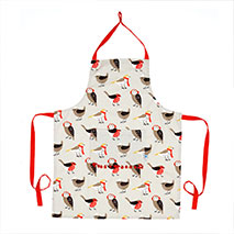 Winter birds apron product photo